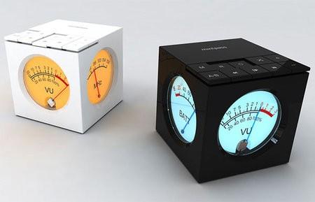 Mintpass Cube – аудиоплеер с аналоговым индикатором