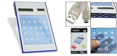 Калькулятор с USB-хабом