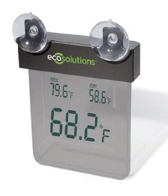 Электронный термометр Solar-Powered Digital Window Thermometer