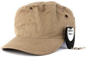 Шпионская кепка с дистанционным управлением