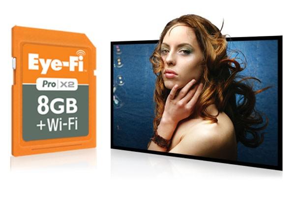 Eye-Fi Pro X2 – беспроводная карта памяти на 8 Гб