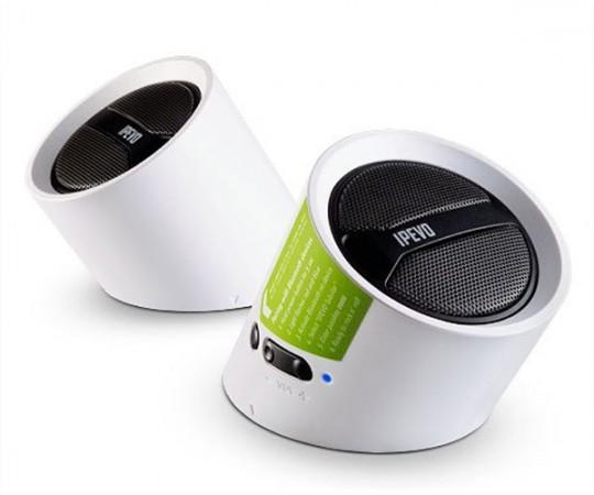 Беспроводная аудиосистема IPEVO Tubular Wireless Speakers