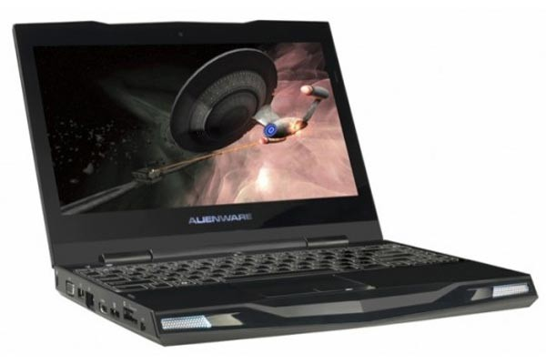 Ультрапортативный игровой ноутбук Alienware M11x