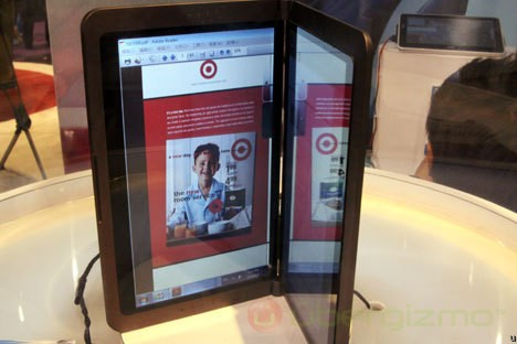 Ноутбук с двумя экранами от MSI