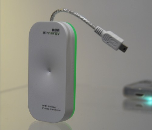 Бепроводная зарядка через WiFi - Airnergy