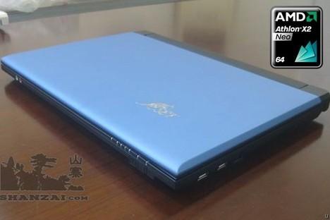 Первый ноутбук с двухъядерным процессором Athlon Neo