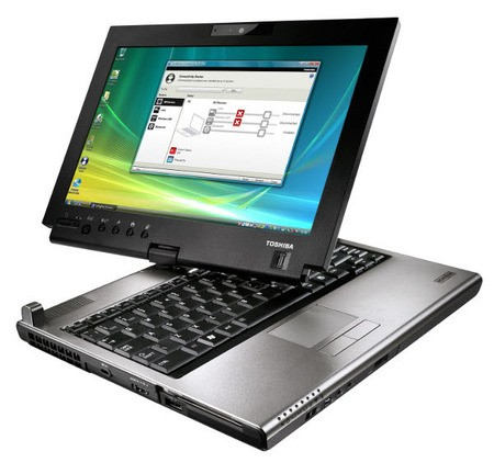 Ноутбук с вращающимся дисплеем Toshiba Portege M780