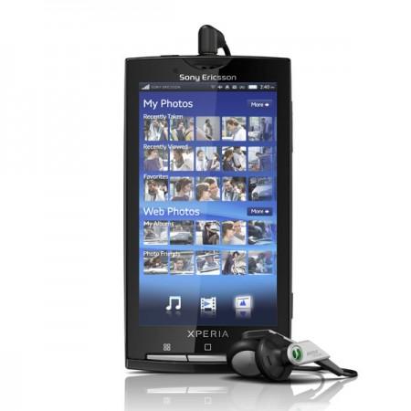 Sony Ericsson Xperia X10 скоро в продаже