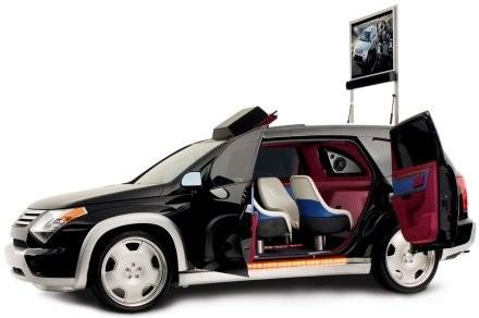 Домашний кинотеатр в авто - Suzuki Flix