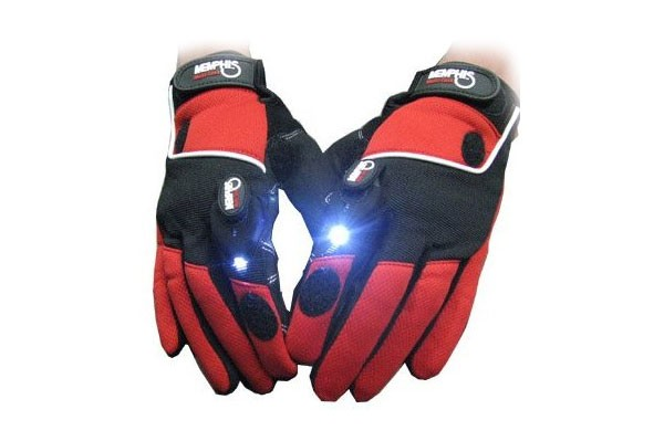 Перчатки с подсветкой Multi-task Gadget Light Gloves