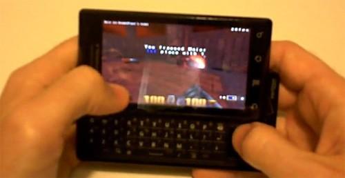 Quake 3 портировали на смартфоны Android