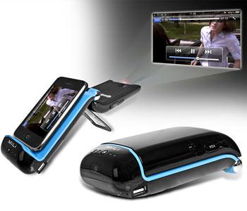 MiLi – пико-проектор для iPhone