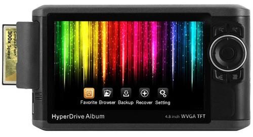Электронный альбом Sanho HyperDrive, 640Гб фотографий за 600$