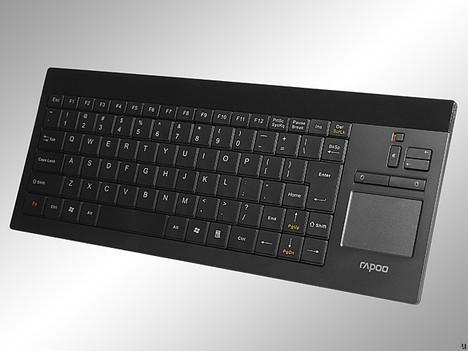 Rapoo 2900 – беспроводная клавиатура с тачпадом