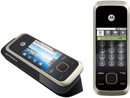 Motorola HS1001 – домашний телефон с сенсорным экраном