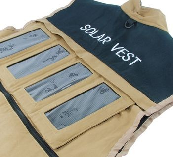 «Солнечный» жилет Solar Vest