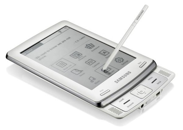 E6 eReader – новая читалка от Samsung