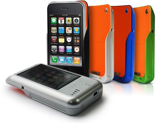 Корпус с зарядным устройством для iPhone и iPod Touch
