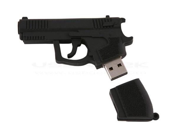 Флешка-пистолет – Handgun USB Drive