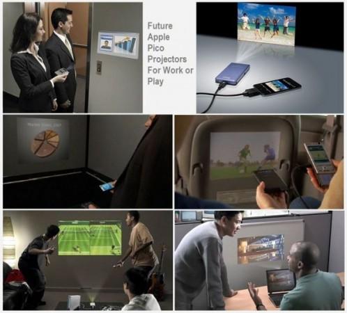 Apple патентует встраиваемые пикопроекторы