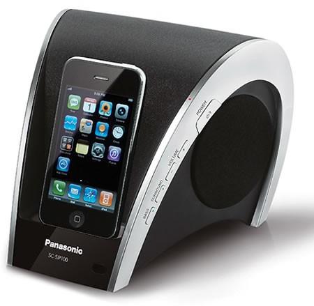 Стильная док-станция для iPod от Panasonic