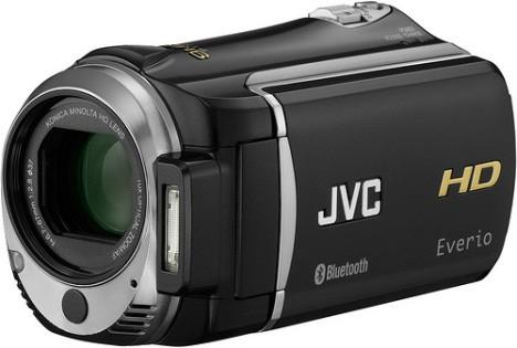 JVC начинает продажи Bluetooth-видеокамеры