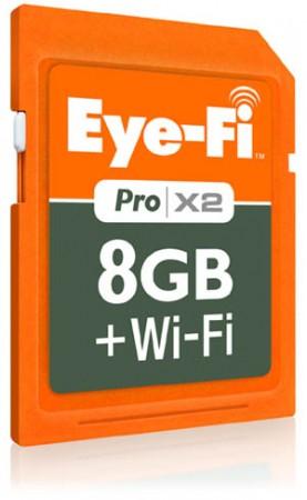 Карты памяти Eye-Fi X2