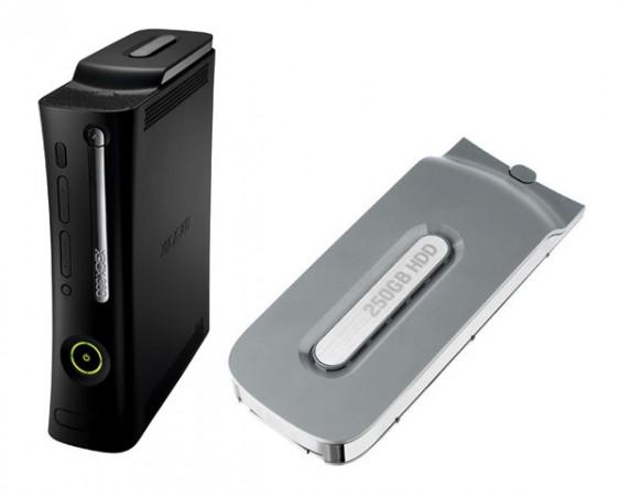 250-гигабайтный жесткий диск для Xbox 360