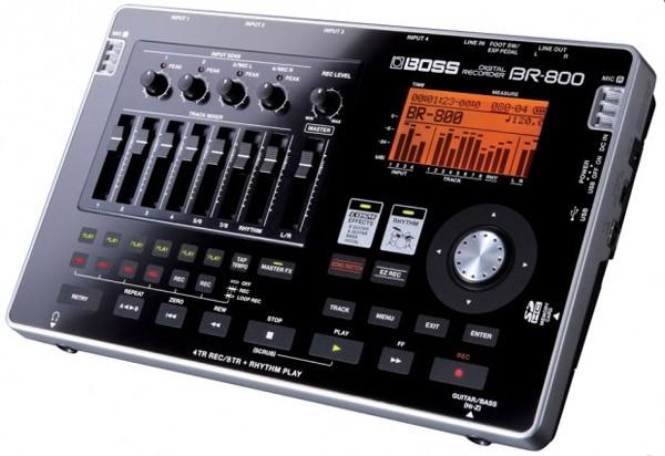 Портативная студия звукозаписи BOSS BR-800