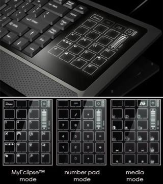 Eclipse LiteTouch – клавиатура с сенсорным дисплеем
