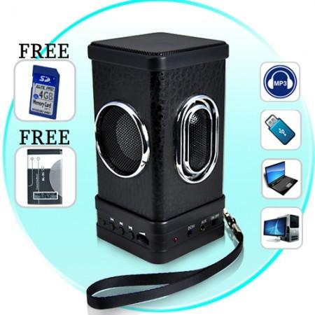 Стильный портативный динамик Speaker Amore