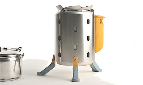 BioLite: походная печь, генерирующая электричество