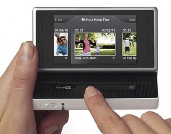 Карманная HD-видеокамера Flip SlideHD