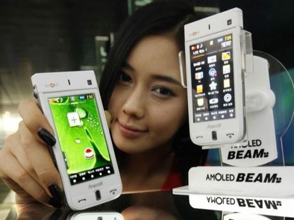 Телефон-проектор Samsung SPH-W9600
