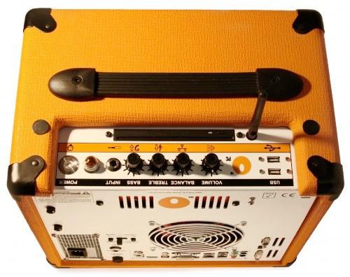 Гитарный усилитель с компьютером
