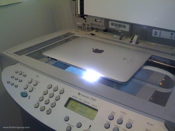 Как распечатать документ с iPad
