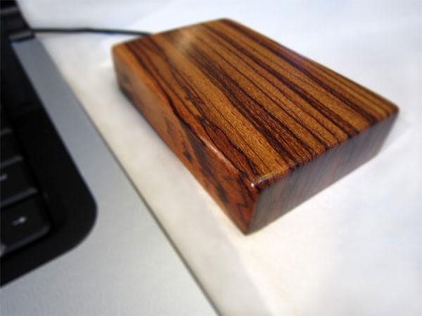 Деревянные внешние жесткие диски