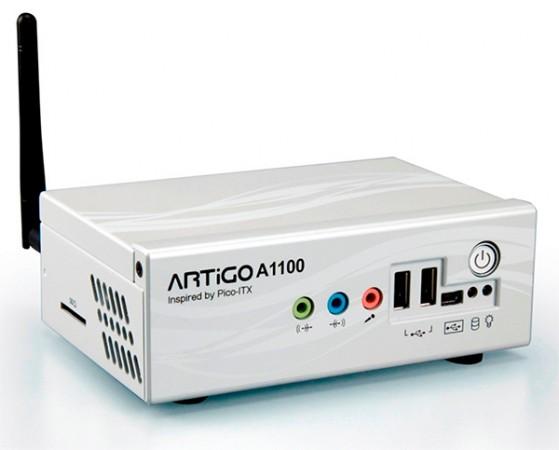 Компактный неттоп VIA ARTiGO A1100