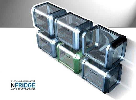 Electrolux nFridge - концепт холодильника