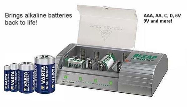 Зарядное устройство для обычных батареек