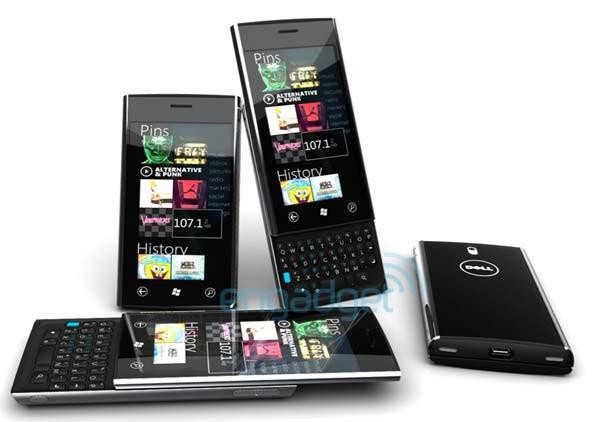 Смартфон Dell Lightning с Windows 7