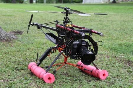 «Зеркалка» + радиоуправляемый вертолет