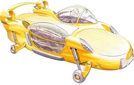 Urban Aeronautics обещают летающие авто к 2010г