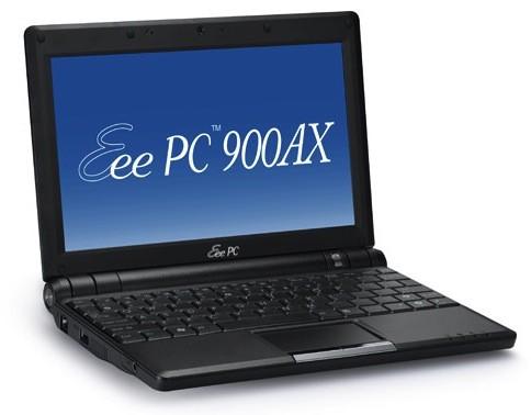 ASUS Eee PC 900AX – воскрешение 9-дюймовых нетбуков