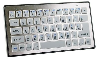 Миниатюрная bluetooth клавиатура