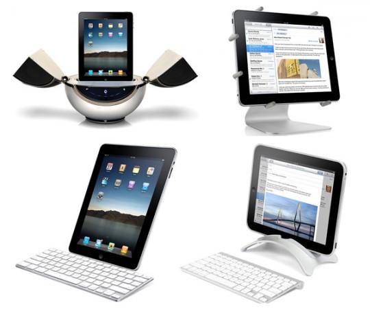 Пять интересных подставок под iPad