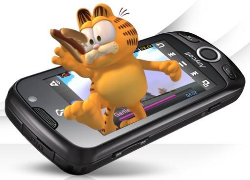 3D-телефон W960 от Samsung в этом квартале