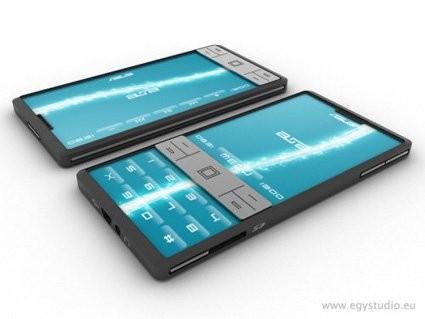 Очередной концепт телефонов будущего от ASUS