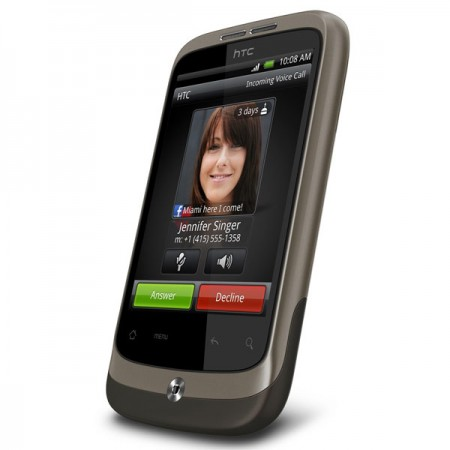 Новый Android-смартфон HTC Wildfire