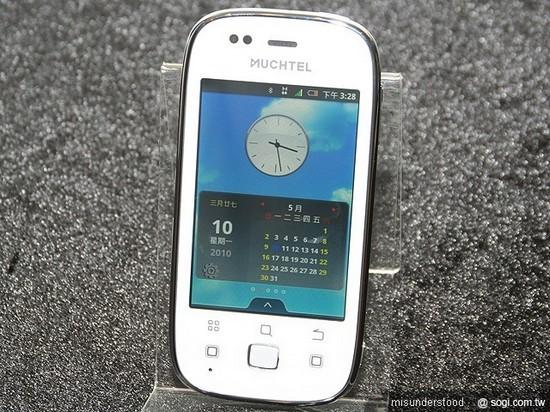 Тайваньский Android-смартфон Muchtel A1